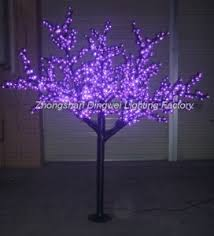 Led Lights For Outdoor Trees China High Quality 2m Outdoor Led Purple Cherry Blossom Tree