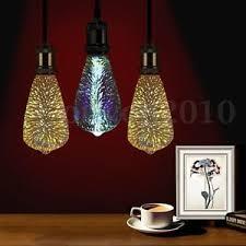 3d fireworks e27 st64 led retro vintage edison glass fairy light