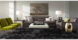 furniture large ottoman tray in black on white ottoman plus sofa
