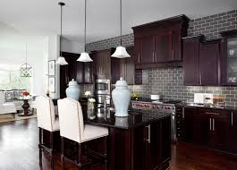 Kitchen Brick Backsplash Fine Kitchen Backsplash Above Cabinets 25 Design N Throughout With