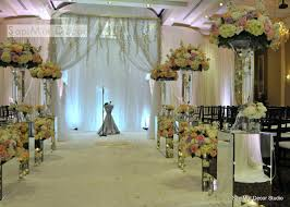wedding backdrop flowers venues
