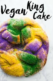 king cake for mardi gras vegan king cake b britnell