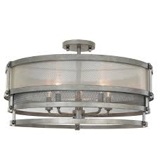 Flush Ceiling Light Fixtures Tiered Elegant Industrial Semi Flush Ceiling Light Shades Of Light