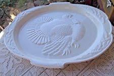 ceramic turkey platter vintage turkey platter california ebay