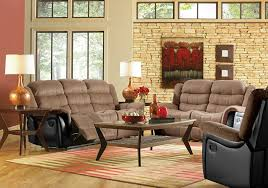 Kent Brown Sofa  Loveseat Badcock Home Furniture  More Of - Badcock furniture living room set