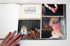 make wedding album how to design your own wedding photo album rock n roll