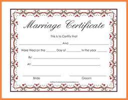 5 blank marriage certificate bussines proposal 2017