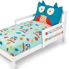 amazon com skip hop 4 piece toddler bedding set owl toddler