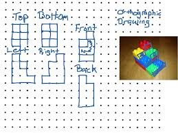 orthographic drawing geometry drawing showme