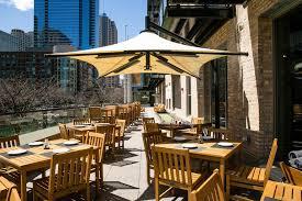 patio restaurantschiff al fresco patio dining on the magnificent mile