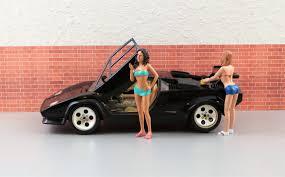 toy lamborghini free images woman female auto black sports car