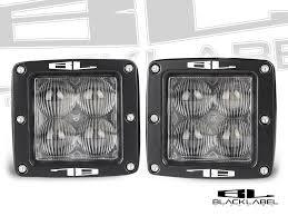 3 inch fog light kit 3 inch black label lighting dual led cube kit
