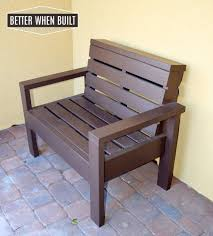 diy pallet bench u2022 better when built