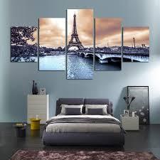 chambre de d馗ompression hd imprimé européenne villes construction paysage peinture chambre