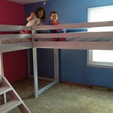How To Make A Loft Bed Frame Bedroom Wood Loft Bed With Desk Loft Bed Design How To Make