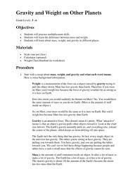 mass and weight on different planets worksheet ghost study