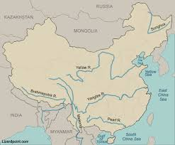 rivers in china map test your geography knowledge china rivers and seas lizard point