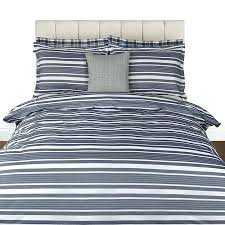 Bed Linen And Curtains - blue stripe duvet cover and curtains blue striped duvet cover ikea
