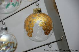 one creative housewife diy christmas ornaments