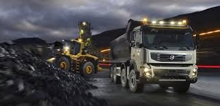 volvo commercial new volvo fmx construction truck delivers strength and