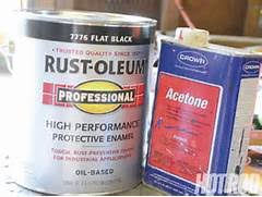 how to mix rustoleum paint for spray gun 12 oz gloss crystal