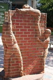 Do It Yourself Garden Art - 20 ingenious brick projects for your home brick projects