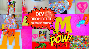 diy room decorations superhero edition youtube