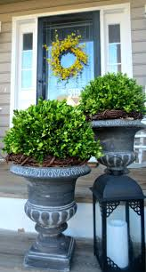 Spring Decorating Ideas For Your Front Door Ideas About Front Door Planters Stuc Hoes Latest With Spring