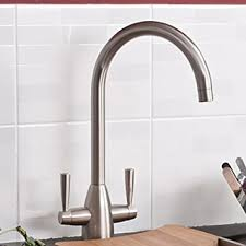 IBathUK Modern Brushed Steel Kitchen Sink Mixer Tap IBathUK - Brushed steel kitchen sinks