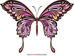 tribal butterfly ribbon clipart clip library