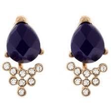 clip on earrings accessorize miu miu swarovski cluster clip on earrings 590 liked