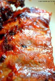 cuisiner travers de porc c est maman qui l a fait travers de porc laques recette au four