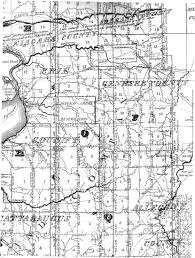 Map Of Western Pa Holland Land Company Records Land Research In Western New York