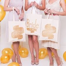 bridal party tote bags to be tote bag by alphabet bags notonthehighstreet
