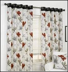 Red Kitchen Curtain by Gray And Black Kitchen Curtains Curtains Home Design Ideas