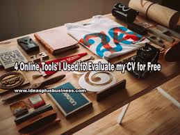 Resume Evaluation 4 Online Tools I Used To Evaluate My Cv For Free Ideas Plus Business