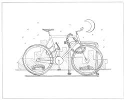 cyclist art print series u2014 dkng