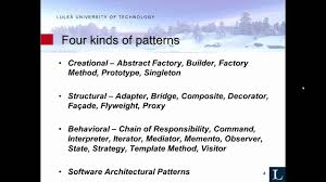 software design pattern strategy software engineering design patterns 1 youtube