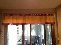 valance train valance no sew made from table runner using