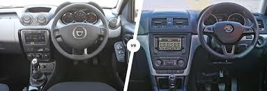 renault duster 2016 interior dacia duster v skoda yeti compact suv rivals carwow