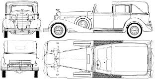 old cars drawings car blueprints rolls royce phaeton blueprint