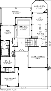 Floor Plans For Ranch Houses House Plan 73157 At Familyhomeplans Com