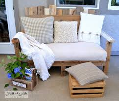 Shabby Chic Bench 27 Best Diy Outdoor Bench Ideas And Designs For 2017