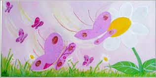 chambre fee chambre fee 85259 tableau enfant bébé envol de papillons décoration