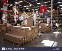 Warehouse Interior by Ikea Warehouse Furniture Store Interior Inside Stock Photo
