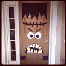halloween decorations front door homemade halloween door decorations