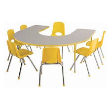 preschool kitchen furniture all shape activity table chair packages by ecr4kids options