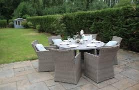 6 Seater Patio Furniture Set - 6 seater garden furniture zandalus net