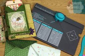envelope punch board by we r memory keepers tutorial youtube