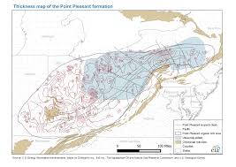 Map Of Mason Ohio by Eia Produces New Maps Of The Utica Shale Play Today In Energy